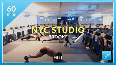NYC Studio: HIIT with Brooke November 4th by Physique 57
