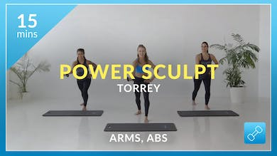 Accelerate to Great Power Sculpt: Arms and Abs with Torrey by Physique 57
