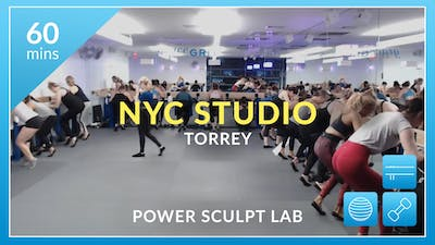 NYC Studio: Power Sculpt Lab with Torrey January 12th by Physique 57