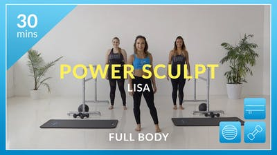 Accelerate to Great Power Sculpt: Total Body with Lisa by Physique 57