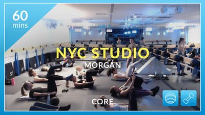 NYC Studio: Core with Morgan February 26th by Physique 57