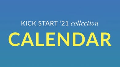 Kick Start '21 Calendar by Physique 57