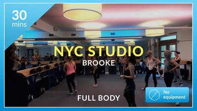 NYC Studio: HIIT with Brooke November 20th by Physique 57