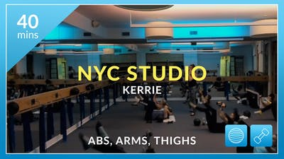 NYC Studio: Core with Kerrie October 16th by Physique 57