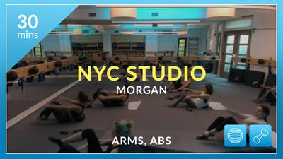 NYC Studio: Arms and Abs with Morgan August 16th by Physique 57