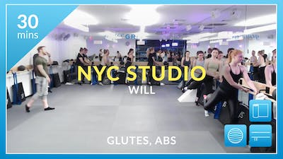 NYC Studio: Glutes and Abs with Will February 23rd by Physique 57