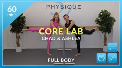Core Lab with Chad and Ashlea by Physique 57