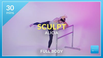 Sculpt with Alicia by Physique 57