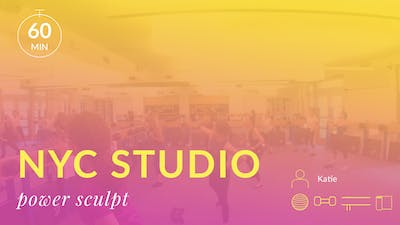 NYC Studio: Power Sculpt with Katie June 27th by Physique 57