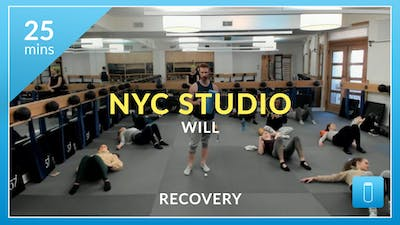 NYC Studio: Recovery: Self Myofascial Release with Will January 29th by Physique 57