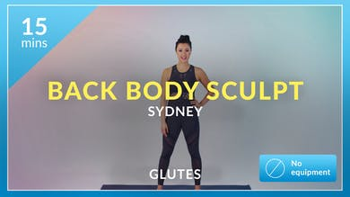 Back Body Sculpt with Sydney by Physique 57