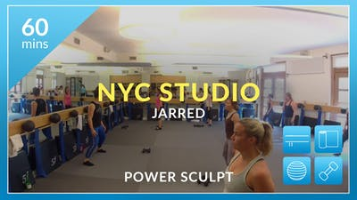 NYC Studio: Power Sculpt with Jarred July 2nd by Physique 57