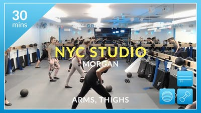 NYC Studio: Arms and Thighs with Morgan February 26th by Physique 57