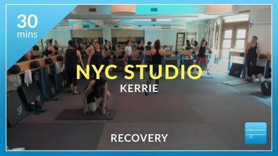 NYC Studio: Recovery with Kerrie August 31st by Physique 57
