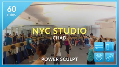 NYC Studio: Power Sculpt with Chad June 26th by Physique 57