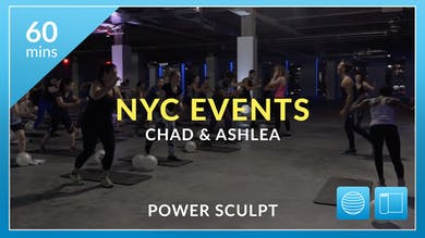 NYC Events: Power Sculpt with Chad and Ashlea by Physique 57