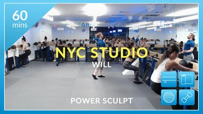 NYC Studio: Power Sculpt with Will January 30th by Physique 57