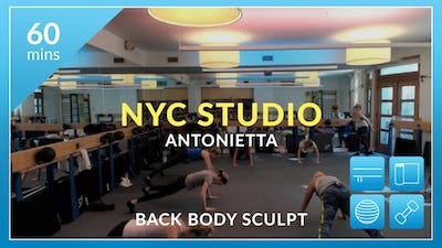 NYC Studio: Back Body Sculpt with Antonietta September 20th by Physique 57