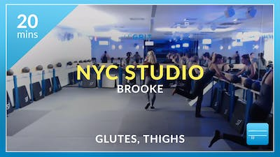 NYC Studio: Glutes and Thighs with Brooke October 5th by Physique 57