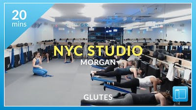 NYC Studio: Glutes with Morgan January 11th by Physique 57