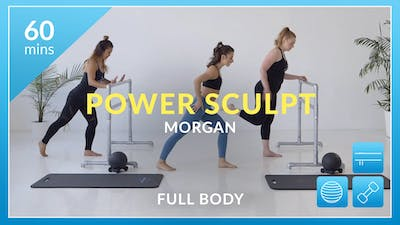 Accelerate to Great Power Sculpt: Full Body with Morgan by Physique 57