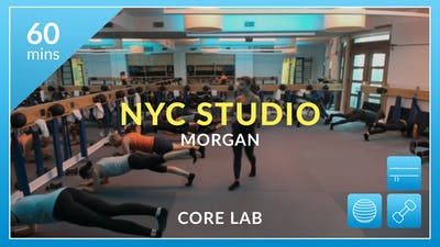 NYC Studio: Core Lab with Morgan August 26th by Physique 57