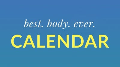 Best Body Ever Calendar by Physique 57