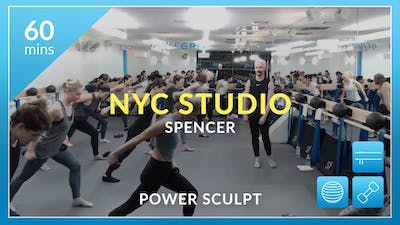NYC Studio: Power Sculpt with Spencer November 3rd by Physique 57