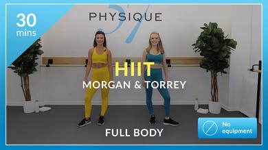 HIIT with Morgan and Torrey by Physique 57