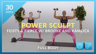 Power Sculpt: Feisty and Fierce with Kameica and Brooke by Physique 57