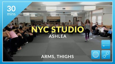 NYC Studio: Arms and Thighs with Ashlea January 26th by Physique 57