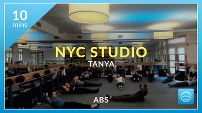 NYC Studio: Abs with Tanya December 23rd by Physique 57