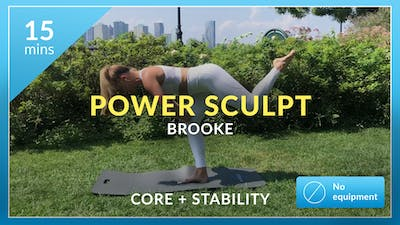 Power Sculpt: Core + Stability with Brooke by Physique 57