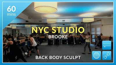 NYC Studio: Back Body Sculpt with Brooke January 3rd by Physique 57