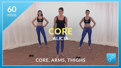 Lose 10 in 10 Core: Abs, Arms and Thighs with Alicia by Physique 57