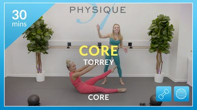 Core - Straight Up with Torrey by Physique 57
