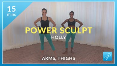 Power Sculpt: Arms and Thighs with Holly by Physique 57