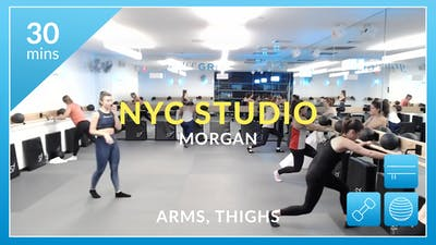 NYC Studio: Arms and Thighs with Morgan March 12th by Physique 57