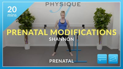 Prenatal Modifications with Shannon by Physique 57