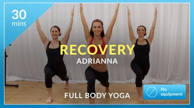 Recovery: Yoga with Adrianna by Physique 57