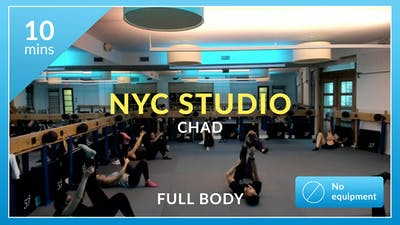 NYC Studio: Recovery with Chad October 16th by Physique 57