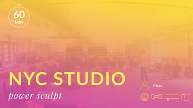 NYC Studio: Power Sculpt with Chad June 13th by Physique 57
