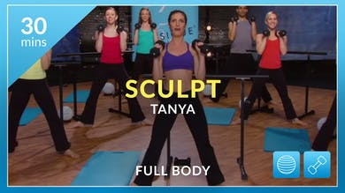 Sculpt: Full Body with Tanya and Shelly by Physique 57