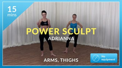 Power Sculpt: Arms and Thighs With Adrianna by Physique 57