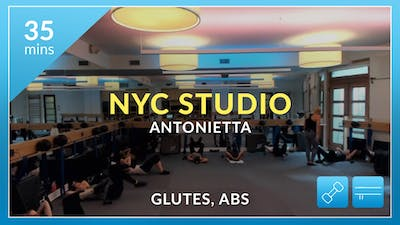 NYC Studio: Glutes and Abs with Antonietta October 11th by Physique 57
