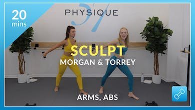 Sculpt: Arms and Abs with Morgan and Torrey by Physique 57