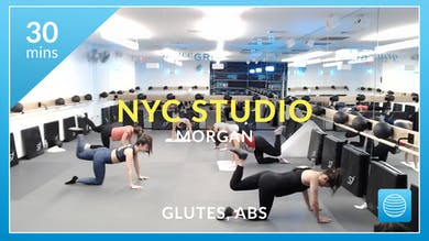 NYC Studio: Glutes and Abs with Morgan March 11th by Physique 57
