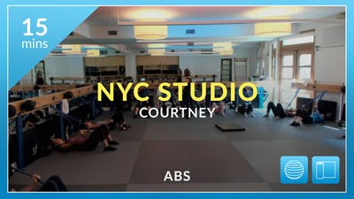 NYC Studio: Abs with Courtney September 22nd by Physique 57