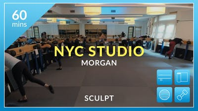 NYC Studio: Sculpt with Morgan August 7th by Physique 57
