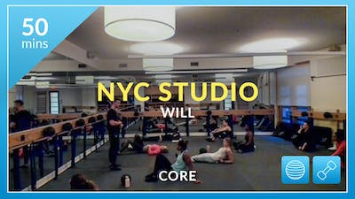 NYC Studio:Core with Will January 3rd by Physique 57